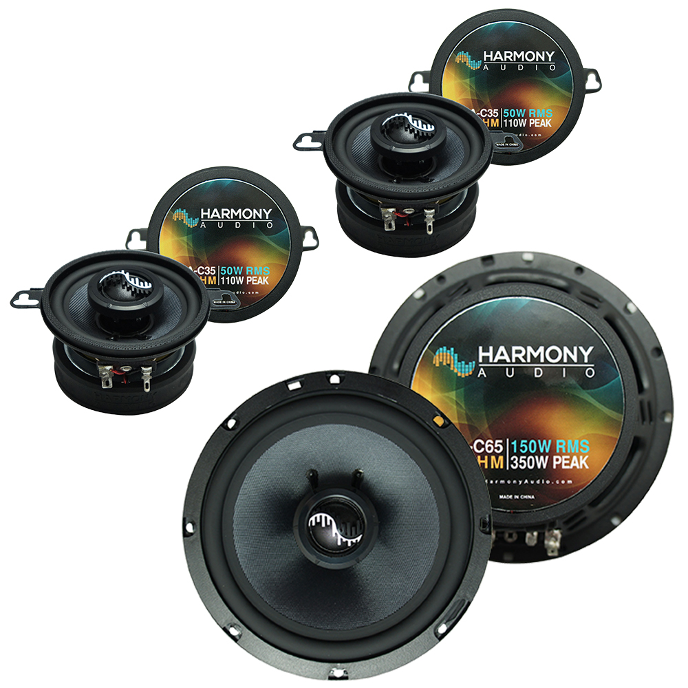 Fits BMW Z4 2003-2008 Factory Premium Speaker Replacement Harmony C65 C35 Coax Package