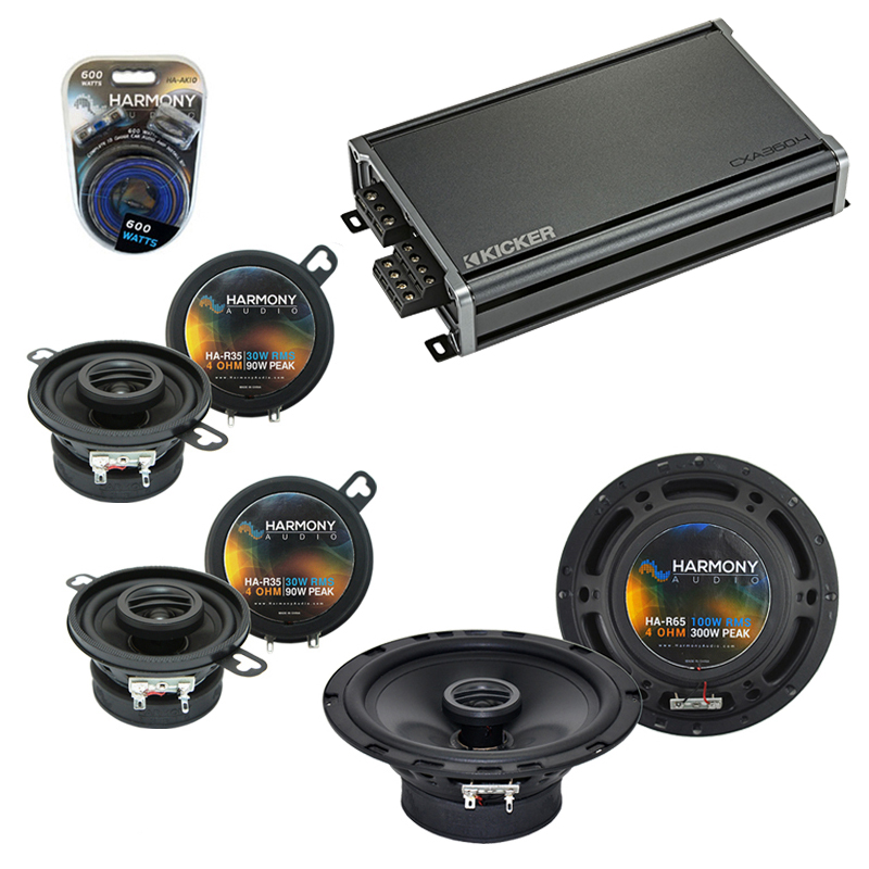 Compatible with BMW Z4 2003-2008 Factory Speaker Replacement Harmony R65 R35 & CXA300.4 Amp