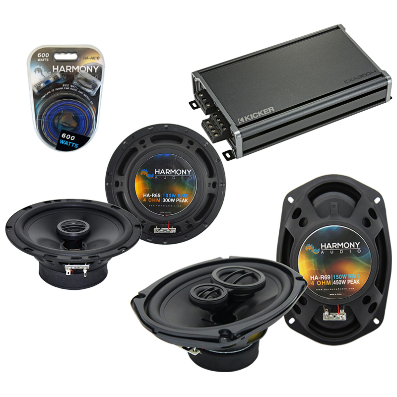 Compatible with Mazda Millenia 94-02 OEM Speaker Replacement Harmony R65 R69 & CXA360.4 Amp