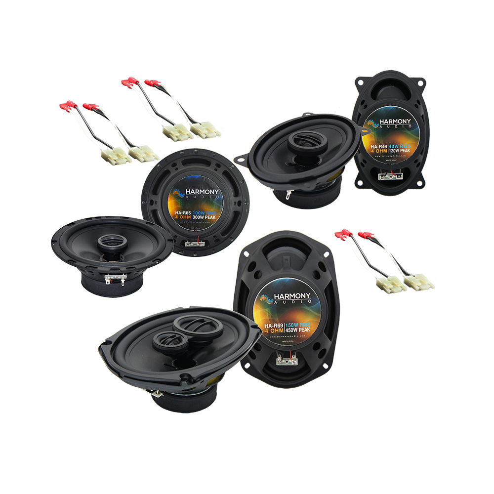 Buick Electra 1984-1990 Factory Speaker Replacement Harmony Upgrade Package New