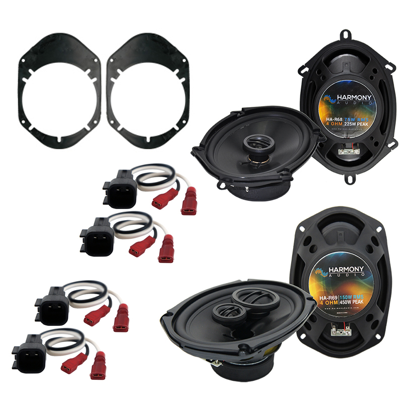 Cheap Car Audio Packages >> Mercury Grand Marquis 98-02 OEM Speaker Replacement Harmony R68 R69 Package - HA-SPK-PACKAGE1547