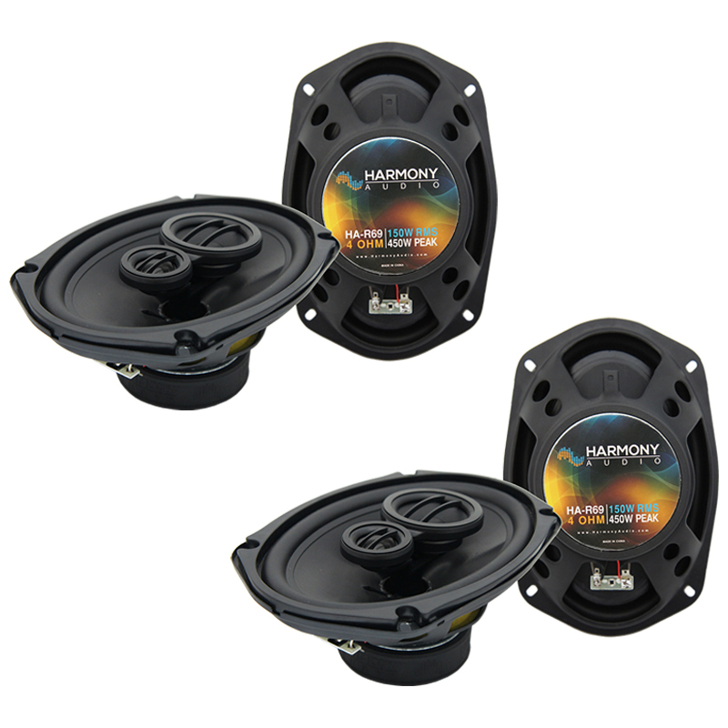 Mitsubishi Eclipse 2006-2012 OEM Speaker Replacement Harmony (2) R69 Package
