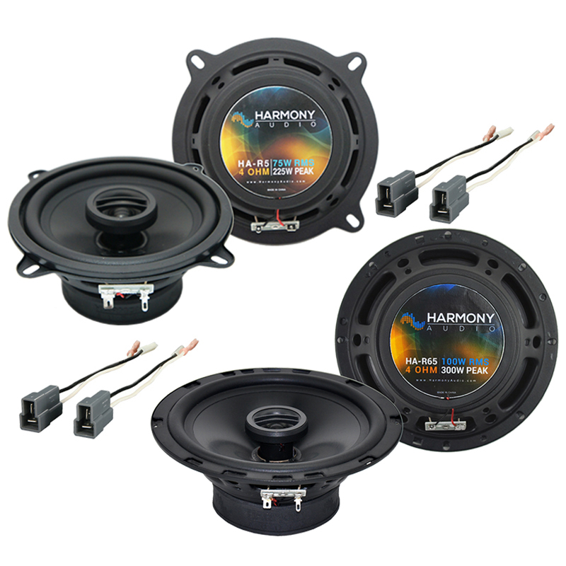 Mitsubishi Mirage 1997-2002 OEM Speaker Replacement Harmony R5 R65 Package