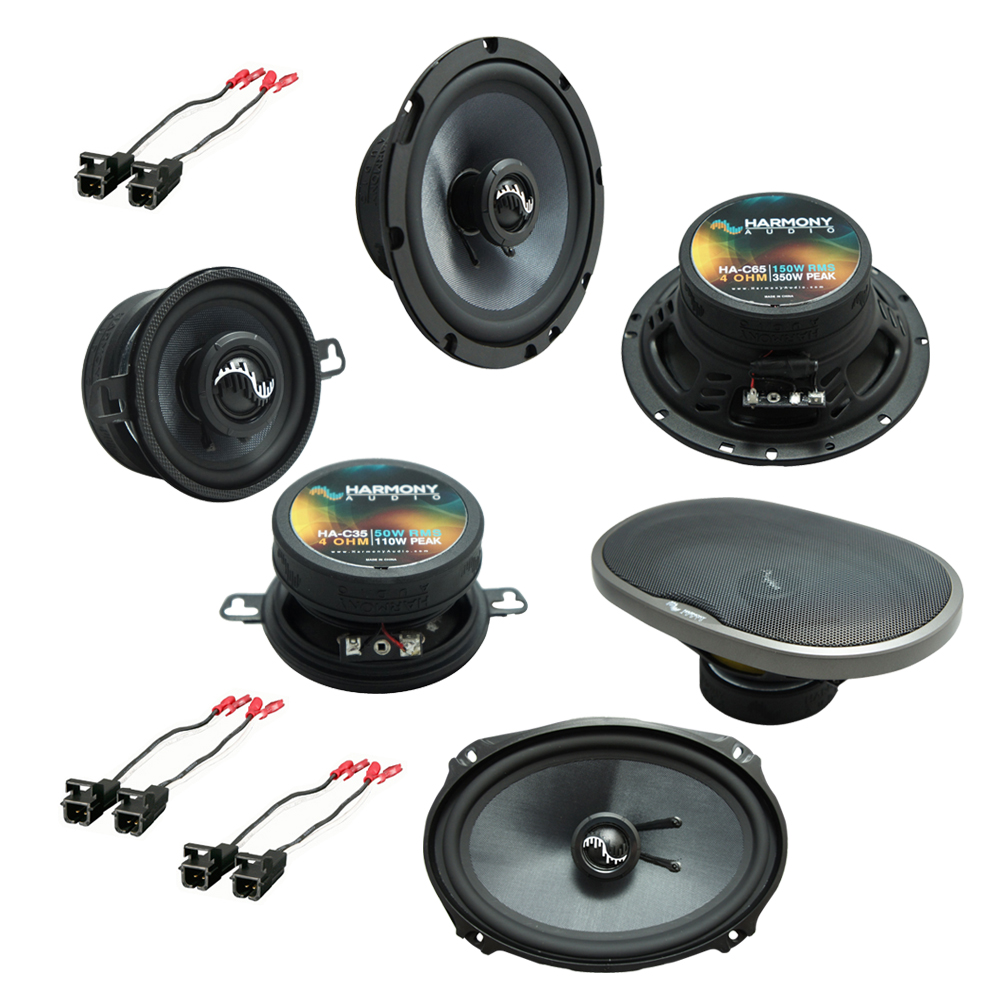 Fits Buick Regal 1984-1987 Factory Premium Speaker Replacement Harmony Upgrade Package
