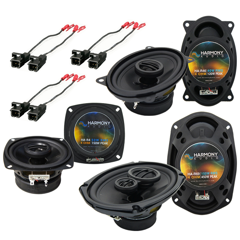 Buick Regal 1988-1994 Factory Speaker Replacement Harmony Upgrade Package New