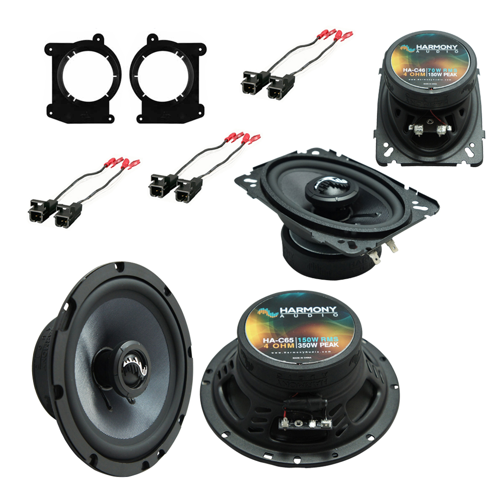 Fits Oldsmobile Bravada 1998-2001 OEM Speaker Upgrade Harmony Premium Speakers Package