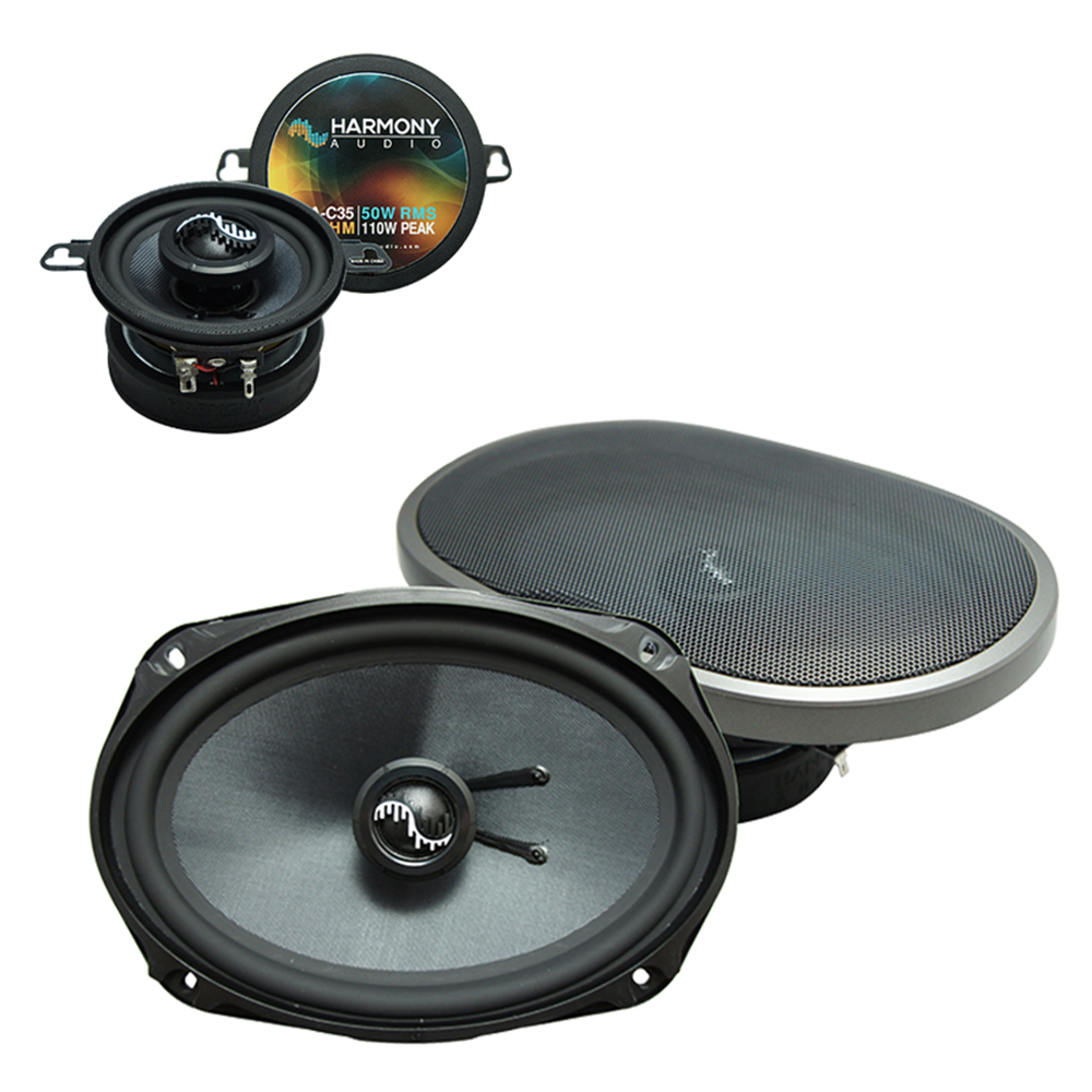 Fits Oldsmobile Cutlass Ciera 1995-1996 Factory Speaker Upgrade Harmony Premium Speakers