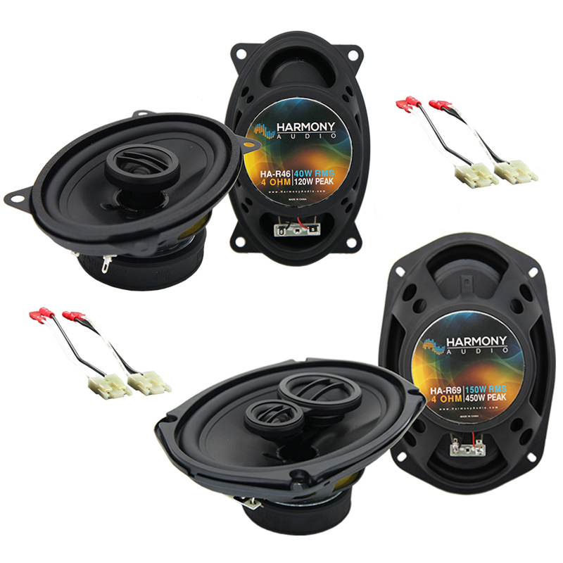 Buick Riviera 1986-1995 Factory Speaker Upgrade Harmony R46 R69 Package New