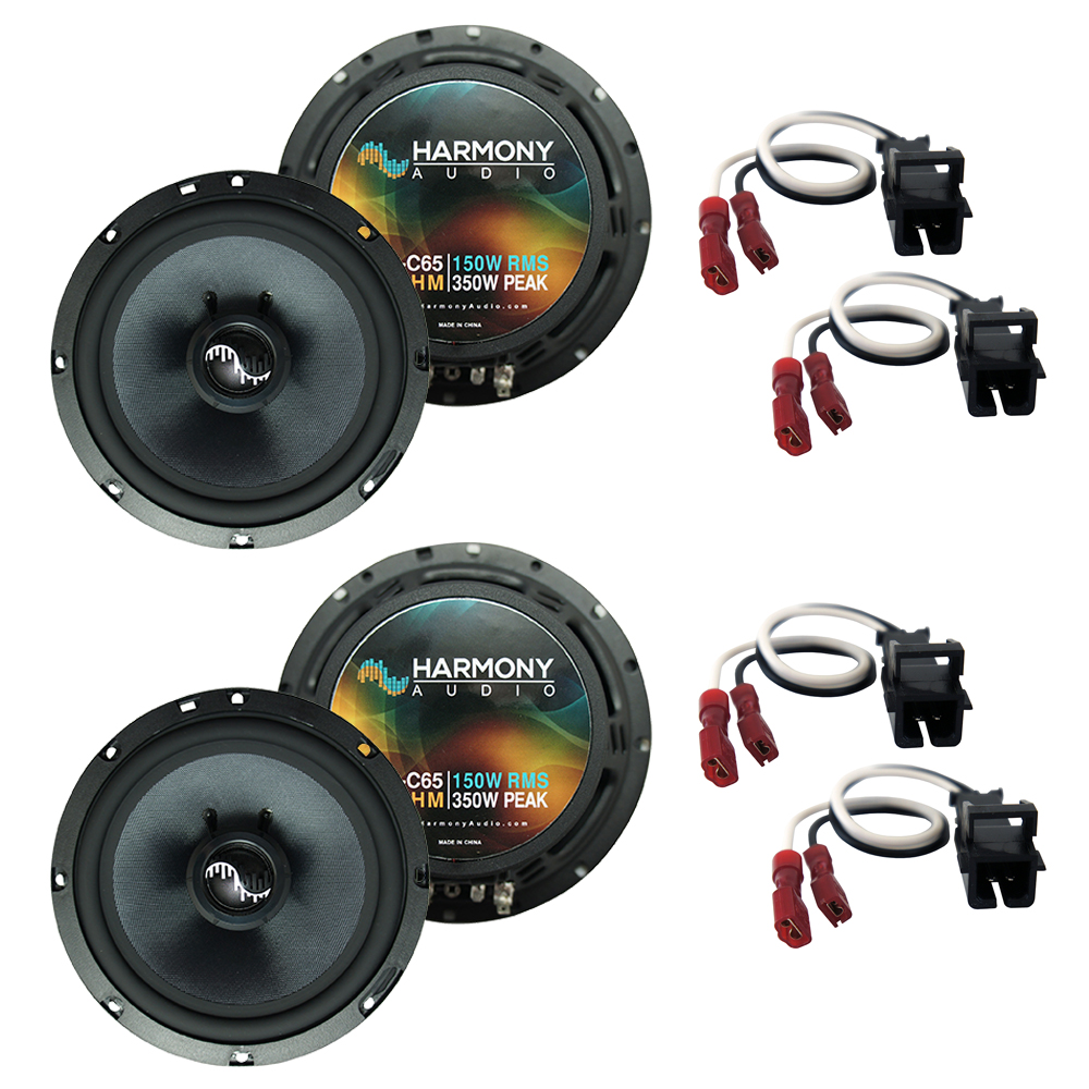 Fits Oldsmobile Silhouette 1997-2004 OEM Premium Speaker Upgrade Harmony (2) C65 Package