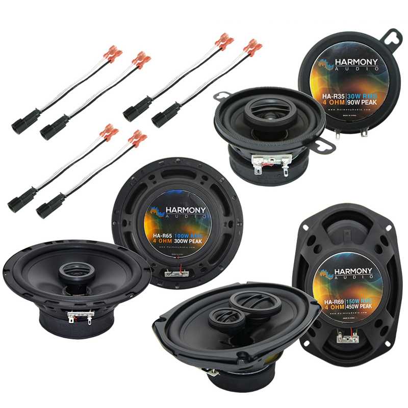 Plymouth Neon 2000-2001 Factory Speaker Replacement Harmony Upgrade Package New