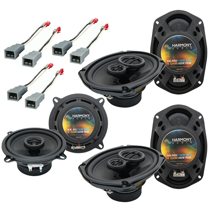 Plymouth Voyager 1996-2000 OEM Speaker Upgrade Harmony R69 R5 Package New