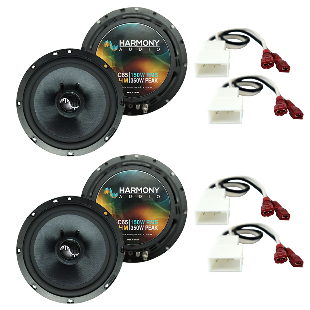 Fits Pontiac Vibe 2003-2008 Factory Premium Speaker Replacement Harmony (2) C65 Package