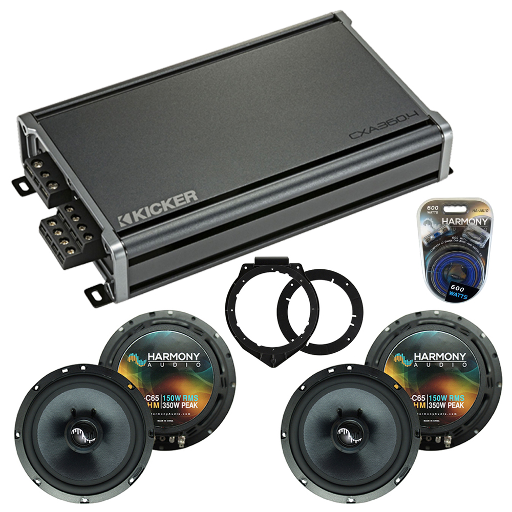 Compatible with Saturn Outlook 2007-2009 OEM Speakers Replacement Harmony (2) C65 & CXA360.4