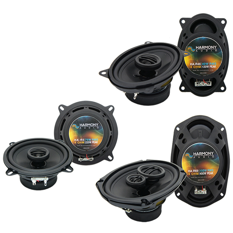 Cadillac Coupe DeVille 1985-1987 OEM Speaker Upgrade Harmony Speakers Package