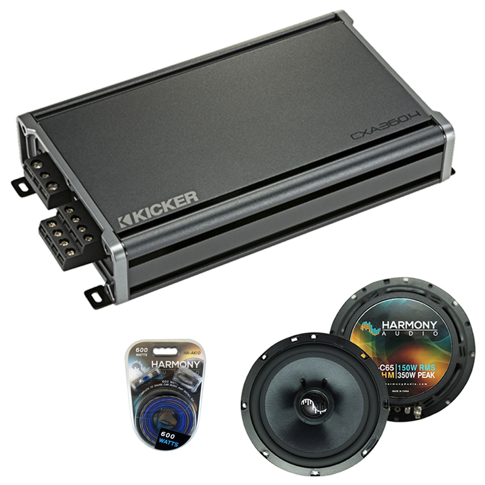 Compatible with Smart Fortwo 2008-2010 Factory Speakers Replacement Harmony C65 & CXA300.4