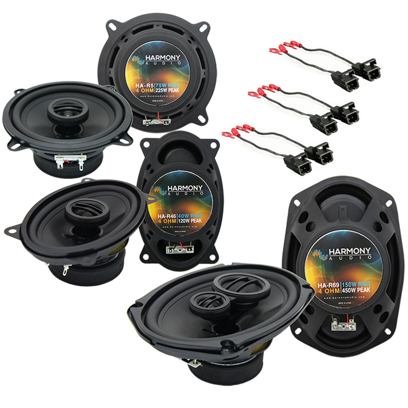 Cadillac Coupe DeVille 1990-1993 OEM Speaker Upgrade Harmony Speakers Package