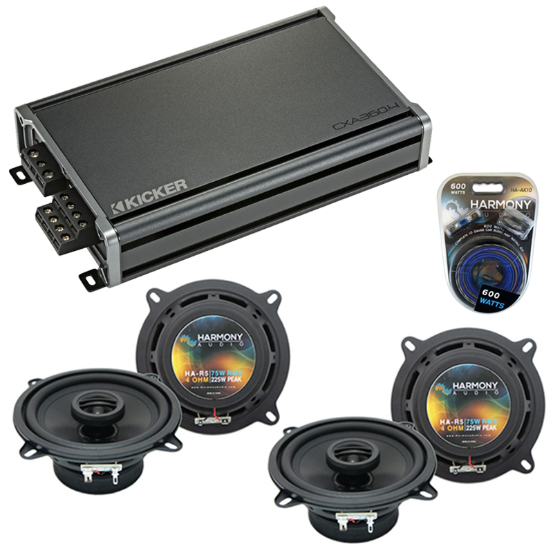 Cadillac CTS 2003-2016 Factory Speaker Replacement Harmony (2) R5 & CXA300.4 Amp