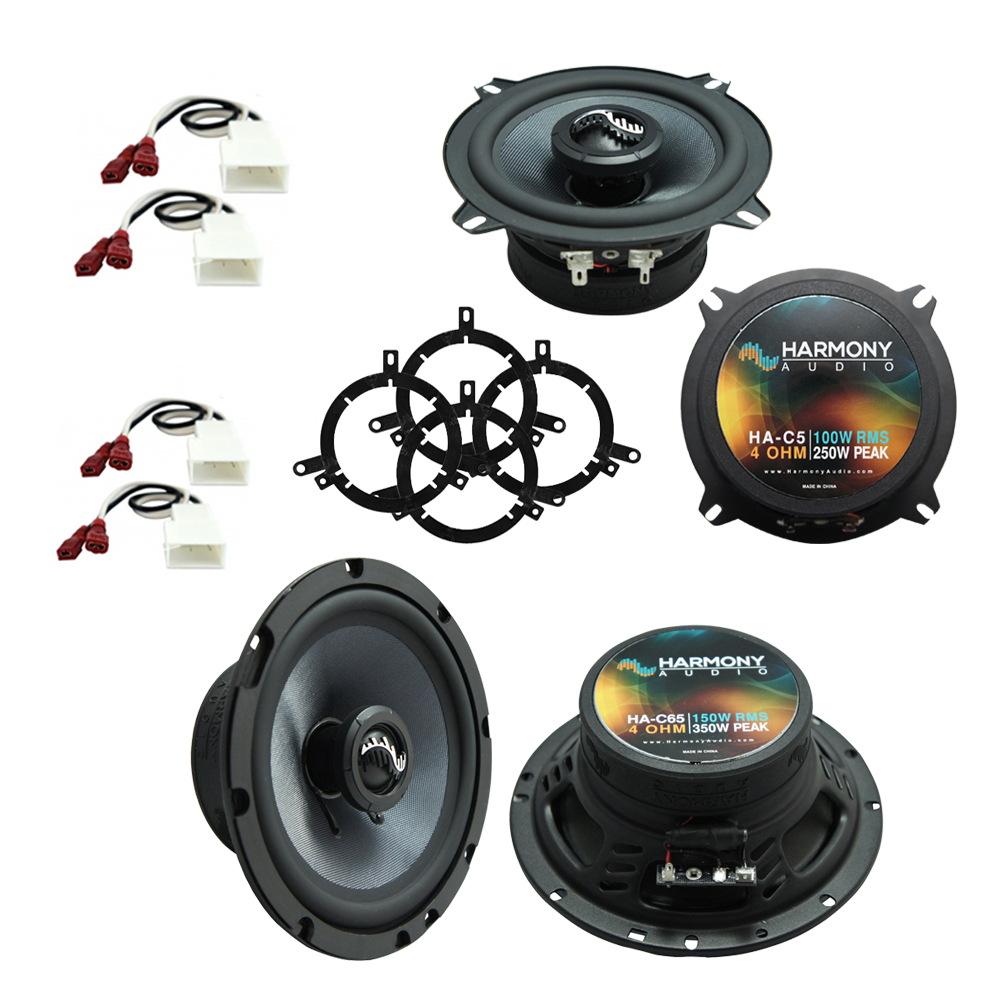 Fits Toyota Corolla 1998-2000 Factory Premium Speaker Upgrade Harmony C5 C65 Package New
