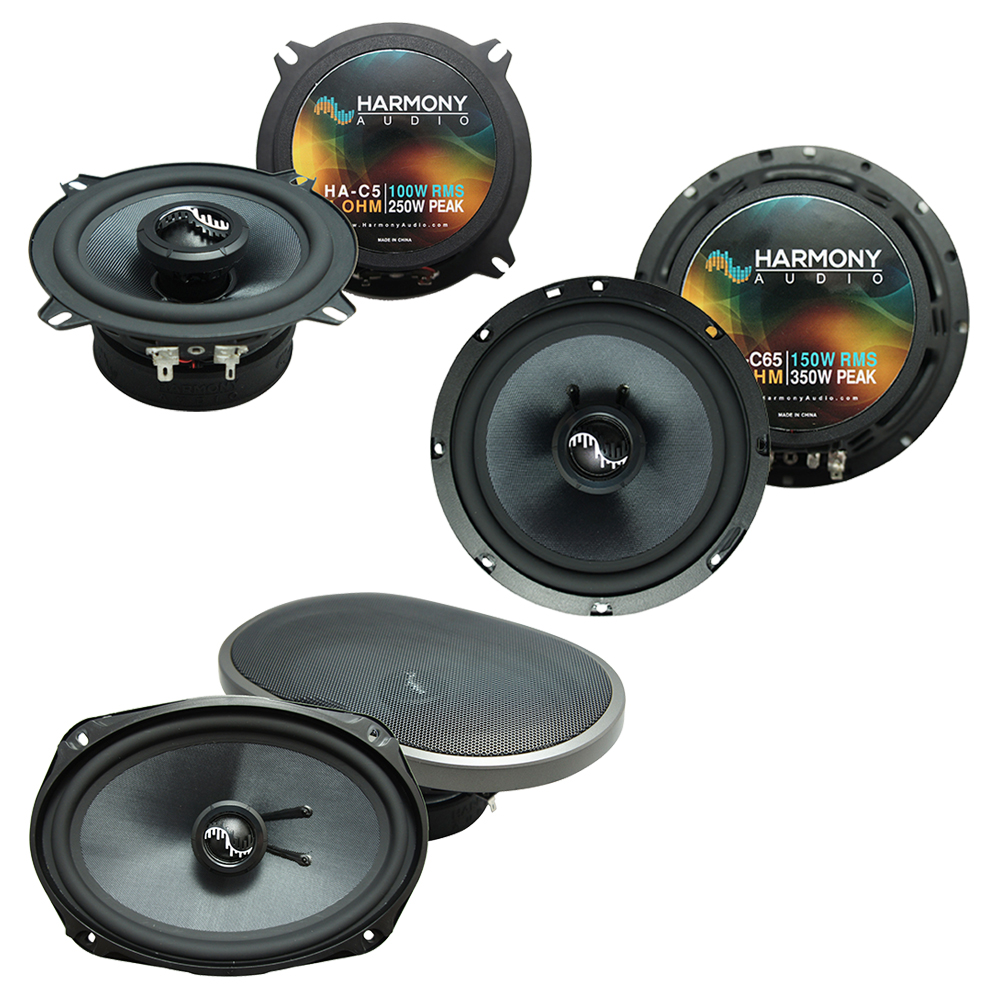 Fits Cadillac DeVille 2000-2005 Factory Speaker Upgrade Harmony Premium Speakers Package