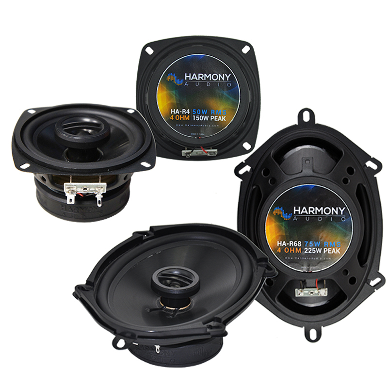 Toyota Corolla 1987-1988 Factory Speaker Upgrade Harmony R4 R68 Package New