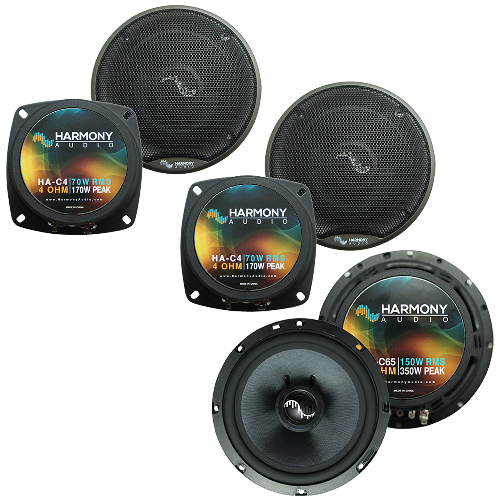 Fits Toyota Land Cruiser 1993-1996 OEM Premium Speaker Upgrade Harmony C65 C4 Package