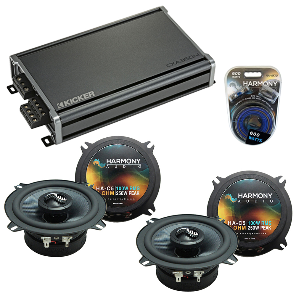 Compatible with Cadillac DTS 2006-2011 Factory Speakers Replacement Harmony (2) C5 & CXA360.4