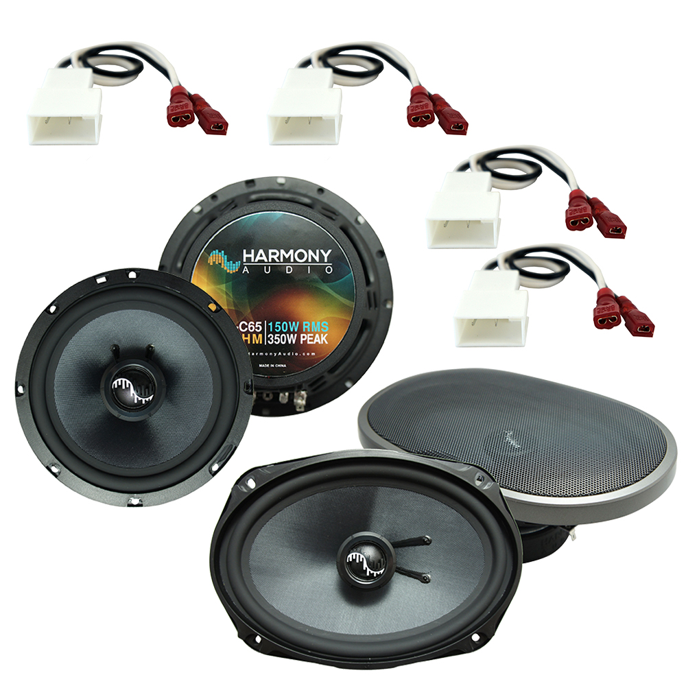 Fits Toyota Sequoia 2008-2016 Factory Premium Speaker Upgrade Harmony C69 C65 Package
