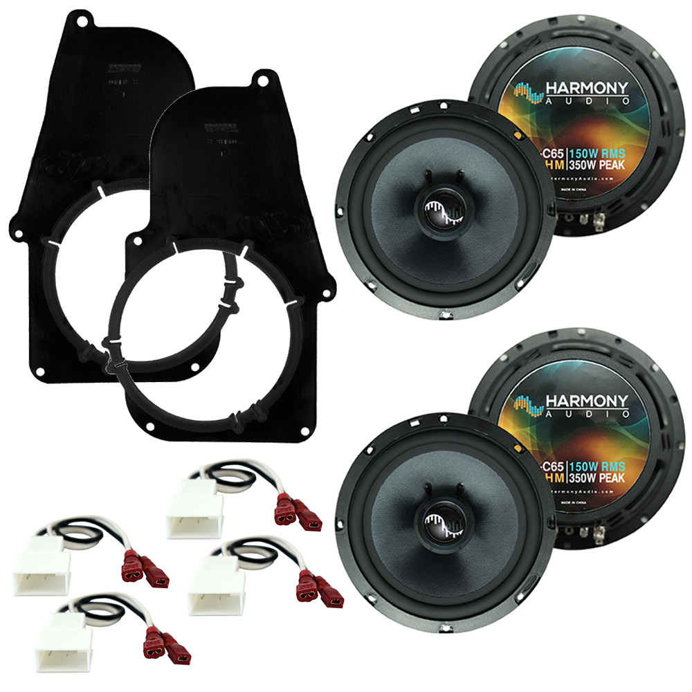Fits Toyota Tacoma 1995-2001 Factory Premium Speaker Replacement Harmony (2) C65 Package