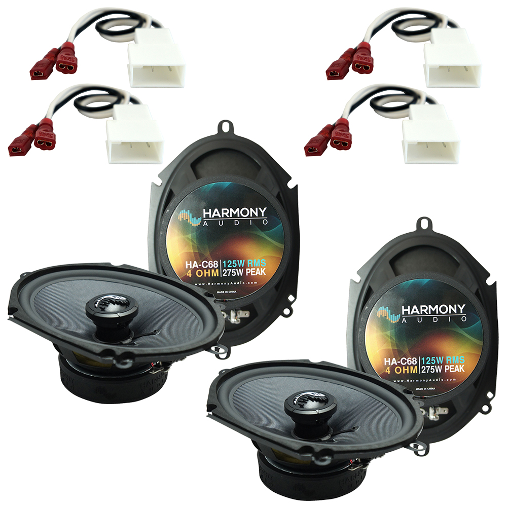 Fits Toyota Tacoma 2002-2004 Factory Premium Speaker Replacement Harmony (2) C68 Package