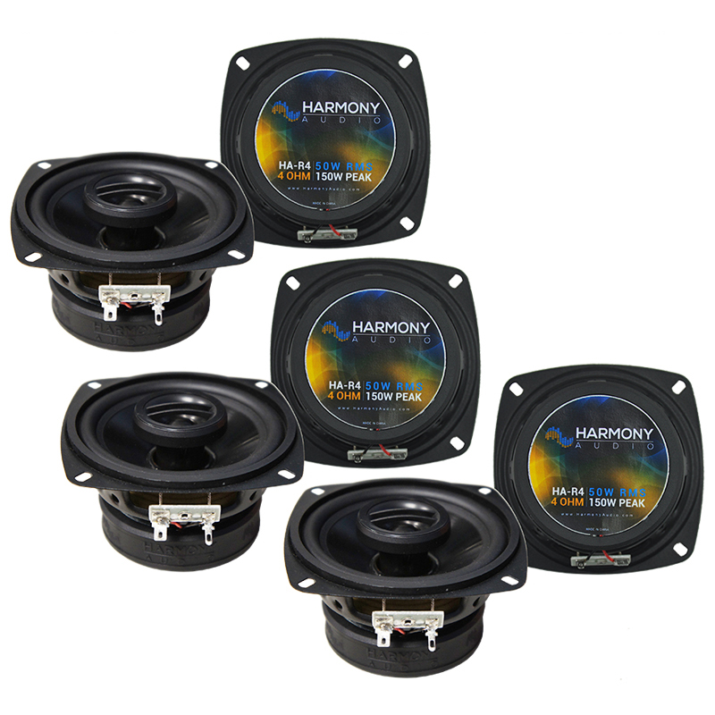 Volvo 240 Series 1990-1993 Factory Speaker Upgrade Harmony (3) R4 Package New