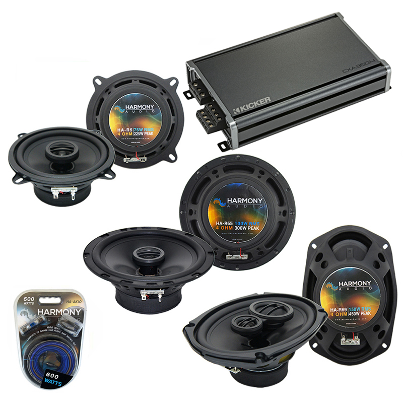 Compatible with Volvo C70 98-02 OEM Speaker Replacement Harmony R65 R5 R69 & CXA300.4 Amp