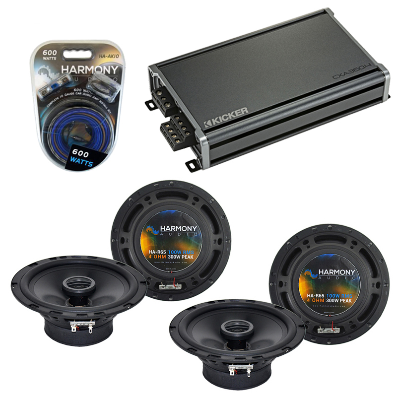 Compatible with Volvo C70 Convertible 03-03 OEM Speaker Replacement Harmony R65 R5 & CXA300.4 Amp