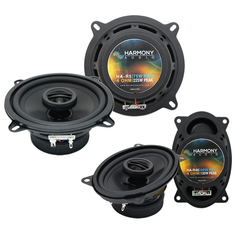 Yugo GV/GVX 1986-1990 Factory Speaker Replacement Harmony R5 R46 Package New