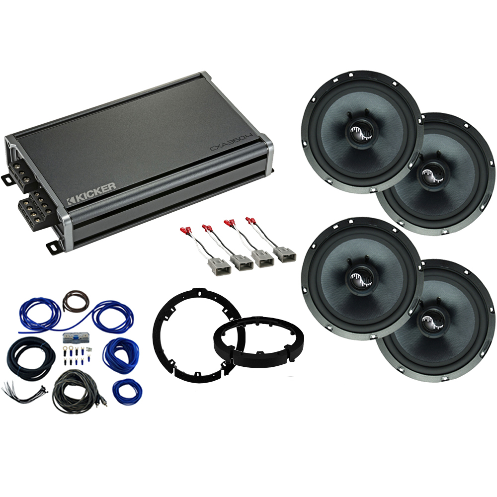 Compatible with Honda Accord 2018-2019 Premium Speaker Upgrade Package Harmony C65 & CXA360.4