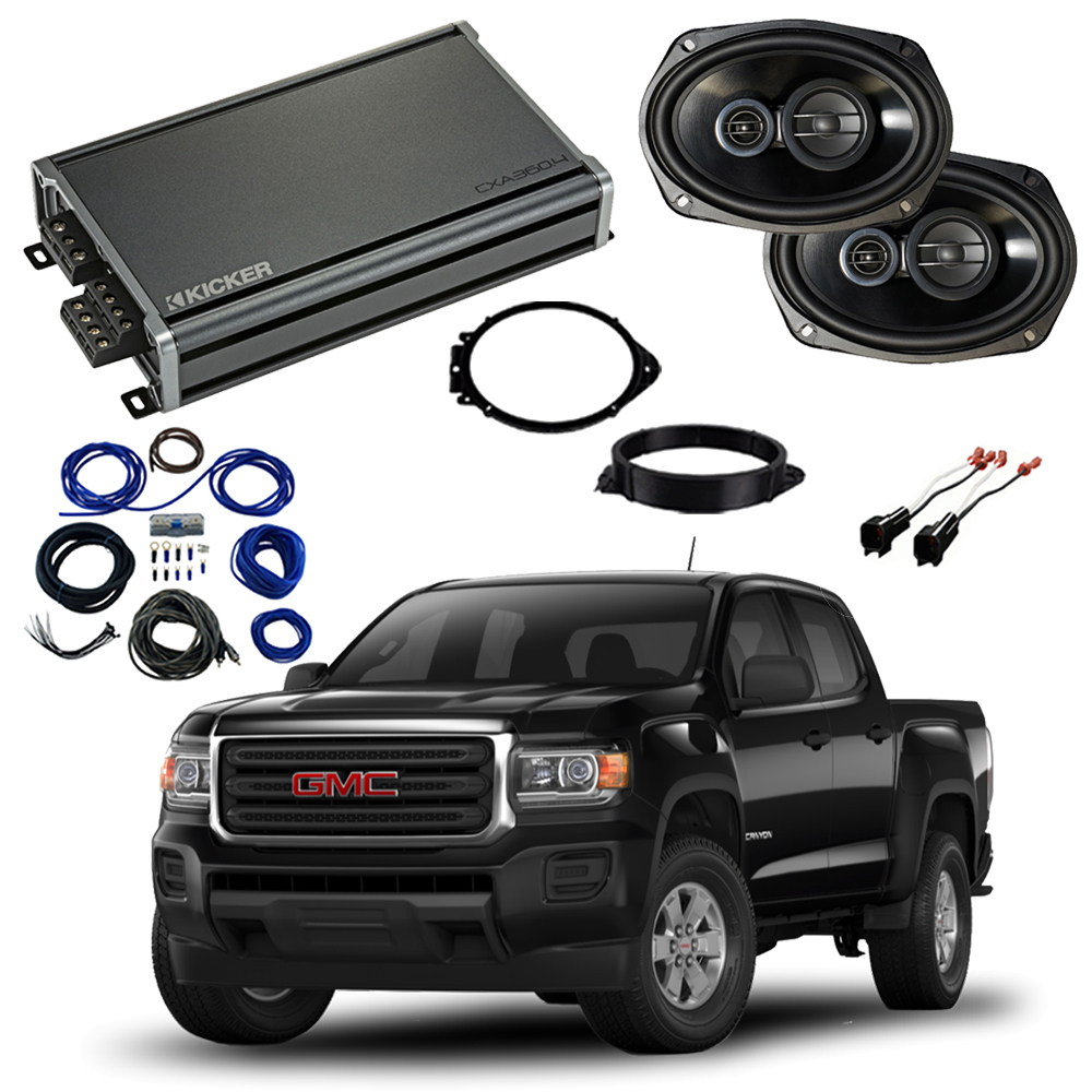 GMC Canyon Crew Cab 2015-2018 Factory Speaker Upgrade