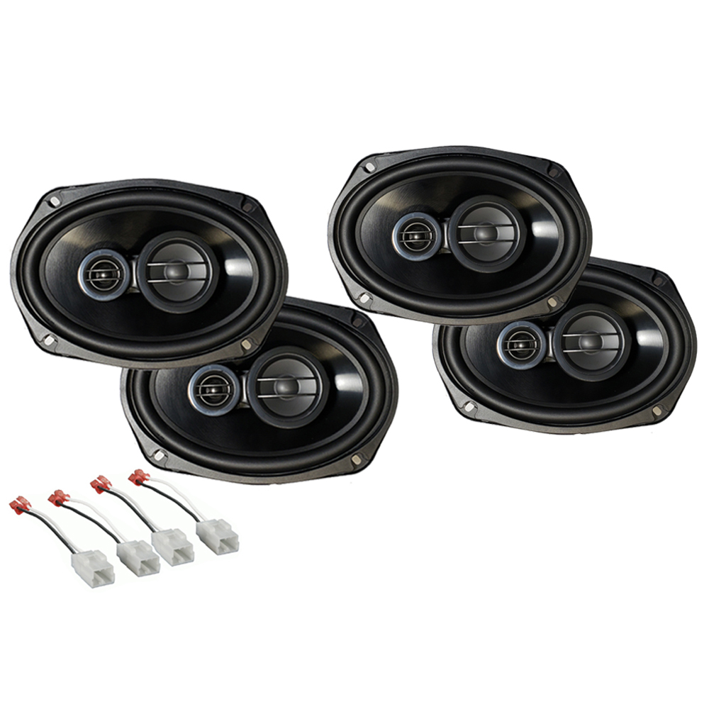 Dodge Charger 2015-2019 Factory Speaker Upgrade Package Harmony R69 Speakers New