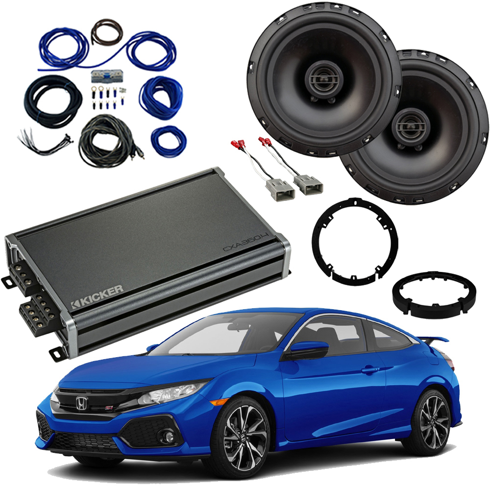 Honda Civic 2016-2019 Factory Speaker Upgrade Package