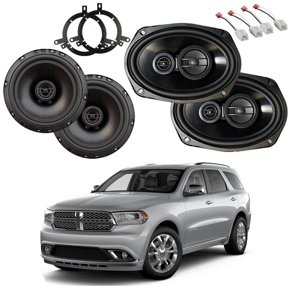Dodge Durango 2014-2019 Factory Speaker Upgrade Package Harmony R65 R69 New