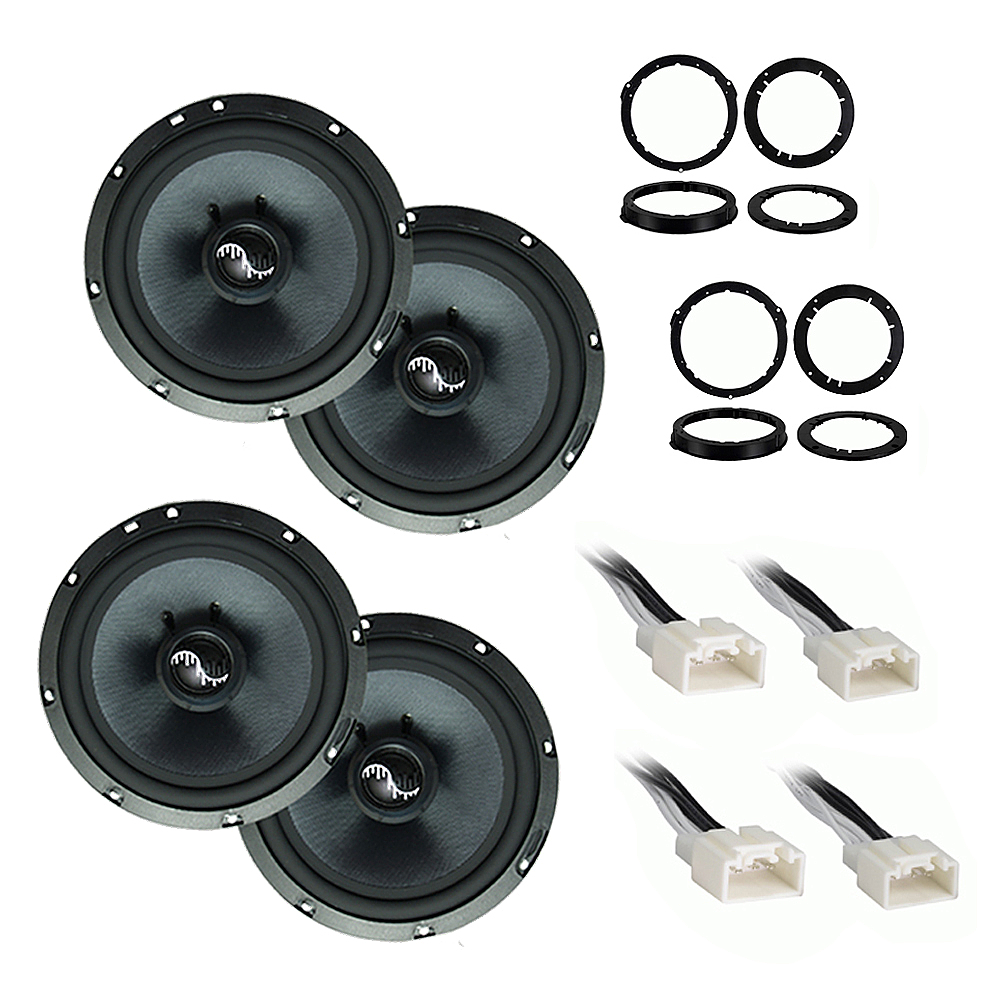 Ford Edge 2015-2018 Premium Speaker Upgrade Package Harmony C65 Speakers New