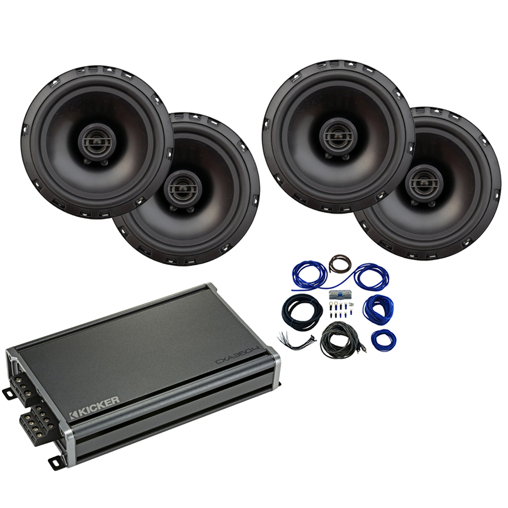 Compatible with Hyundai Elantra 2017-2019 Factory Speaker Replacement Harmony R65 CXA360.4