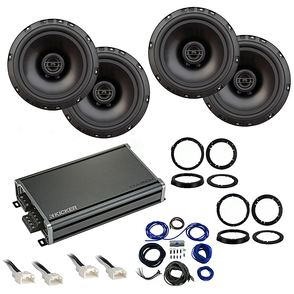 Compatible with Ford Escape 2013-2018 Factory Speaker Replacement Package Harmony R65 CXA360.4