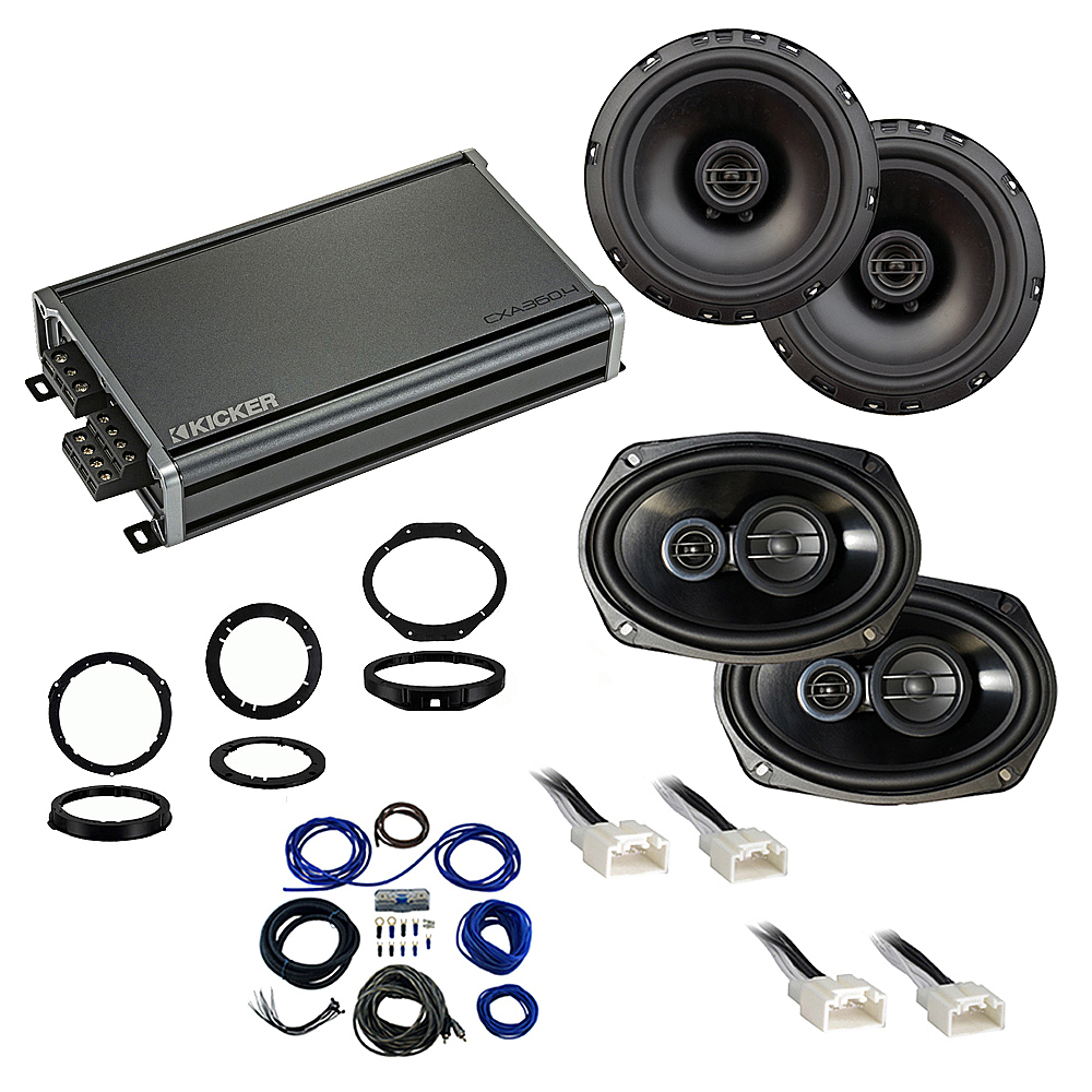 Compatible with Ford Explorer 2016-2109 Factory Speaker Replacement Package Harmony R65 R69 CXA360.4