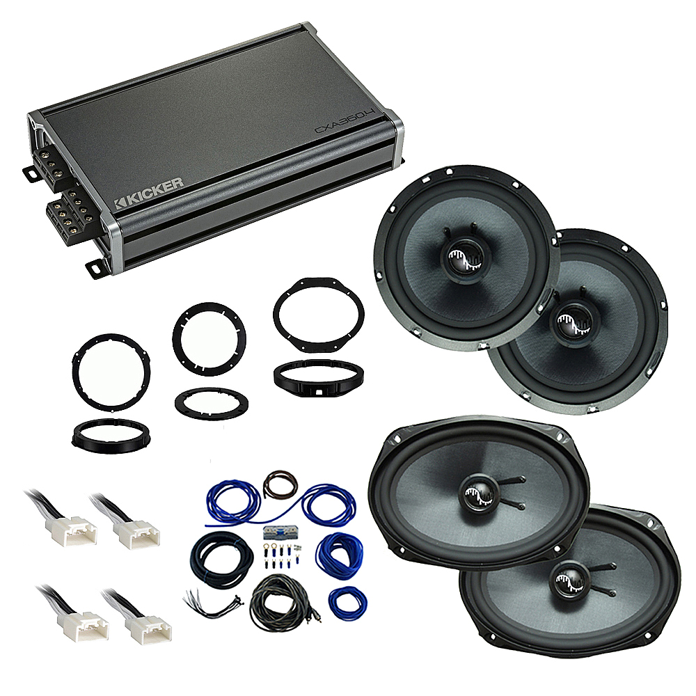 Compatible with Ford Explorer 2016-2109 Premium Speaker Replacement Package Harmony C65 C69 CXA360.4