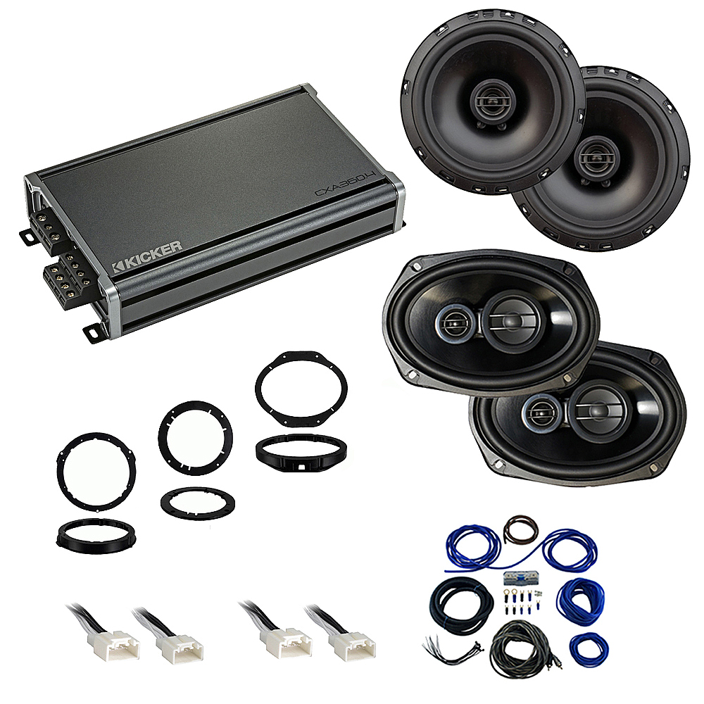 Compatible with Ford F-150 2015-2019 Factory Speaker Replacement Package Harmony R65 R69 CXA360.4