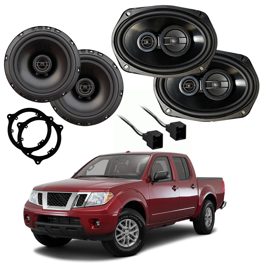 Fits Nissan Frontier 2014-2019 Factory Speaker Upgrade Harmony R65 R69 New