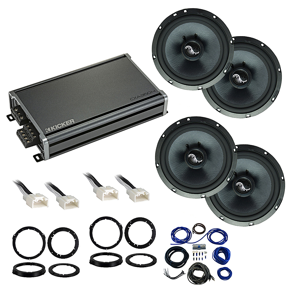 Compatible with Ford Fusion 2013-2019 Premium Speaker Replacement Package Harmony C65 CXA360.4