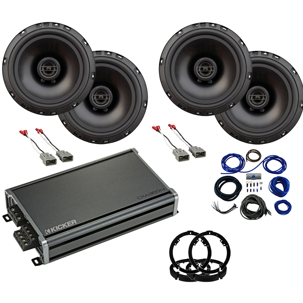 Compatible with Honda Insight 2019 Factory Speaker Upgrade Package Harmony R65 Speakers CXA360.4