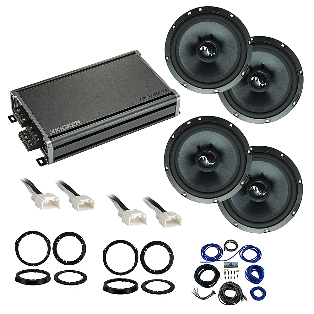 Compatible with Ford Mustang 2015-2018 Premium Speaker Replacement Package Harmony C65 CXA360.4