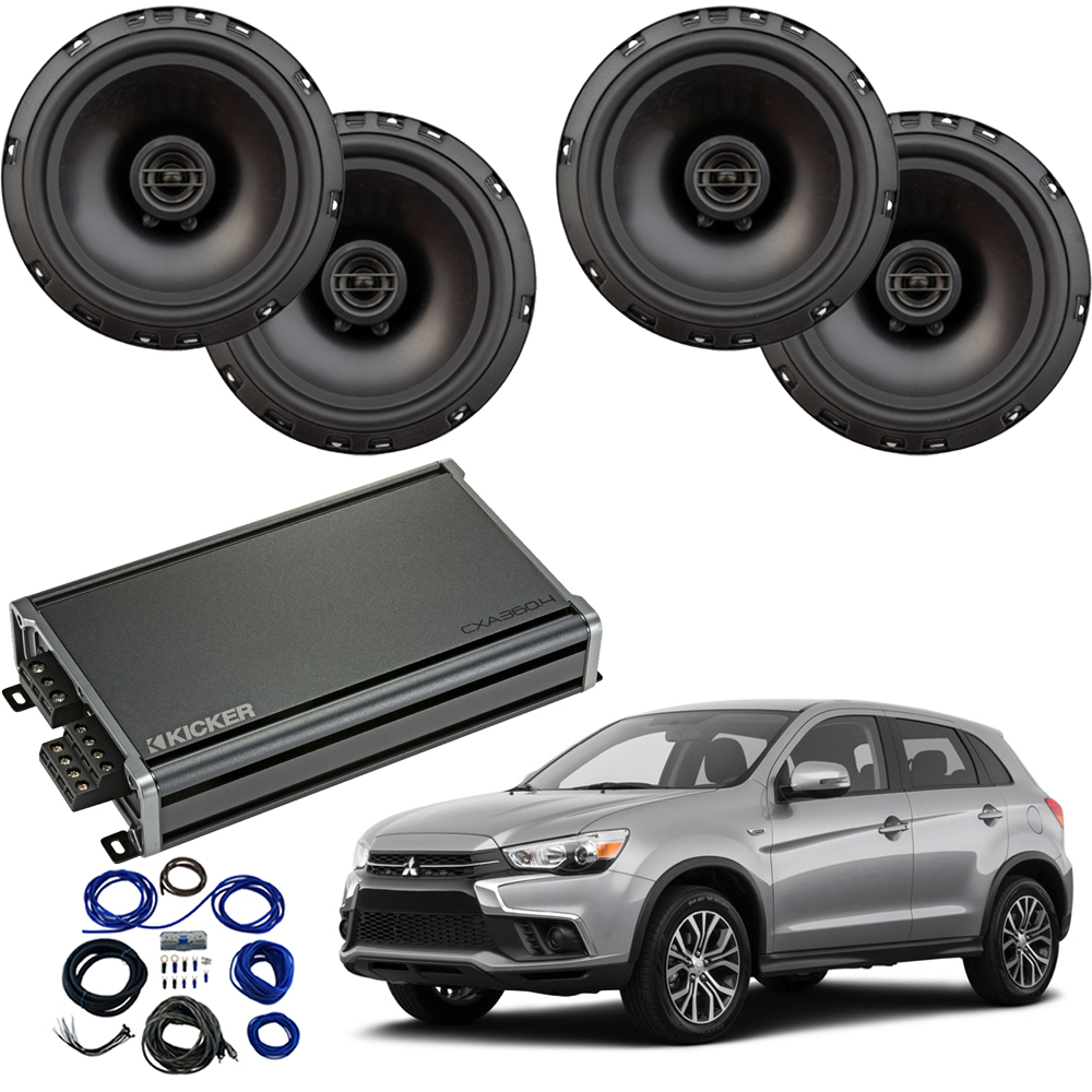 Compatible with Mitsubishi Outlander 2014-2019 Factory Speaker Replacement Package R65 CXA300.4