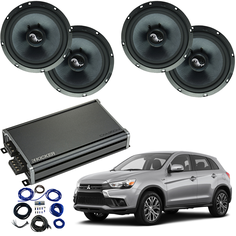 Compatible with Mitsubishi Outlander 2014-2019 Premium Speaker Replacement Package C65 CXA300.4